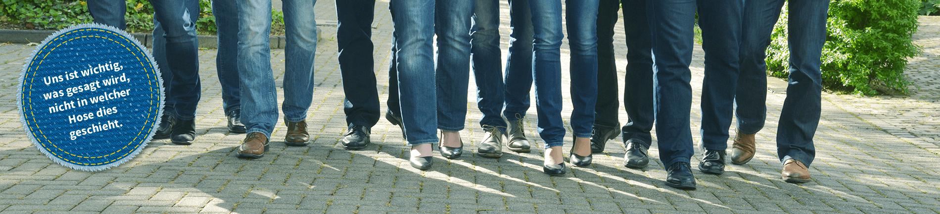 Die PMPG Steuerberatung und Rechtsberatung mit Jeansfaktor